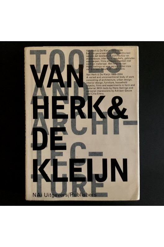 Van Herk & De Kleijn / Tools and Architecture