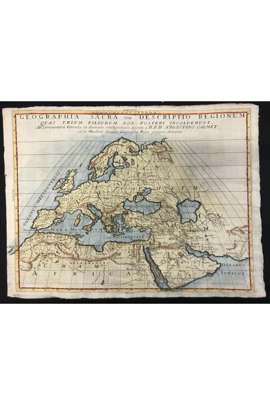 Moulard Sanson / Geographia sacra seu descriptio regionum