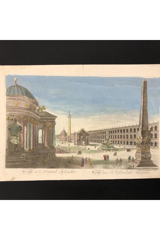 Rome dans sa splendeur ancienne / vue d'optique