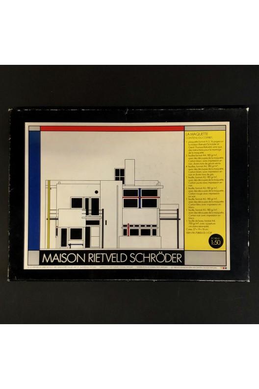 Maison Rietveld Schröder / maquette à découper