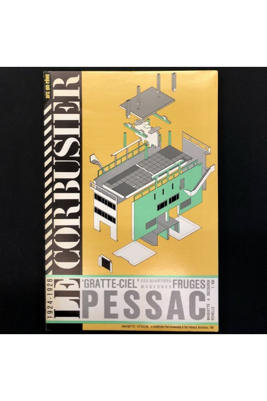 Pessac, le gratte-ciel des quartiers modernes de Frugès / le Corbusier