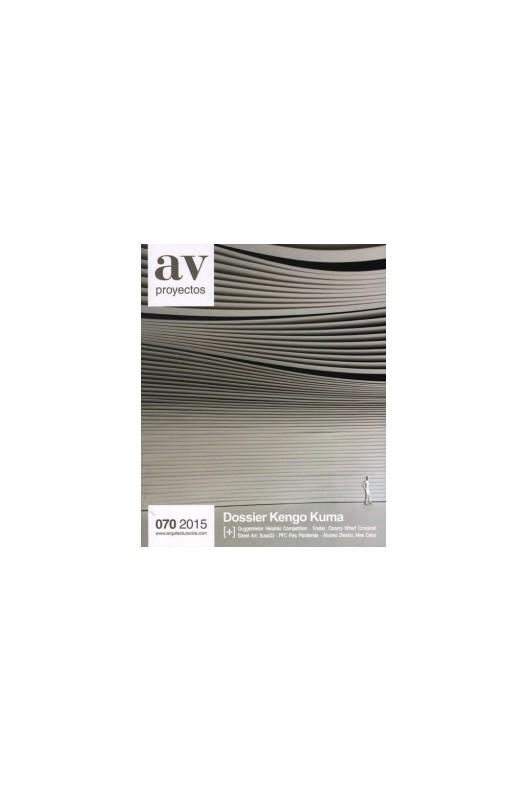 AV Proyectos 070: Dossier Kengo Kuma