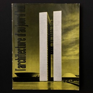 Brésil, Brasilia / l'Architecture d'Aujourd'hui 90 de 1960