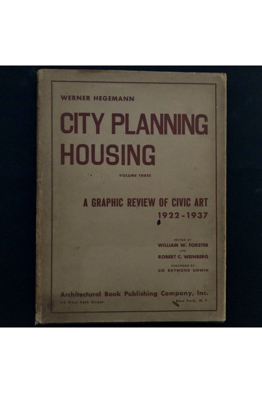 City planning housing / graphic review of civic art 1922-1937
