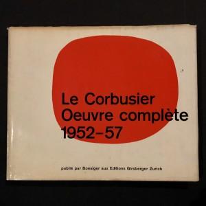 Le Corbusier / oeuvre complète 1952-57