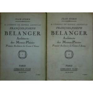 François-Joseph Belanger, Architecte des Menus-Plaisirs