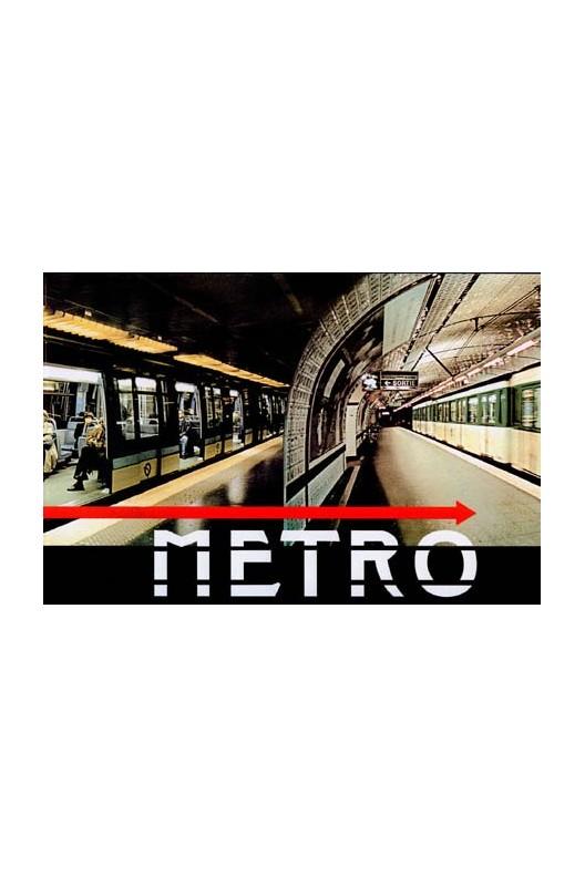 Metro - élévations photographiques de Larry Yust