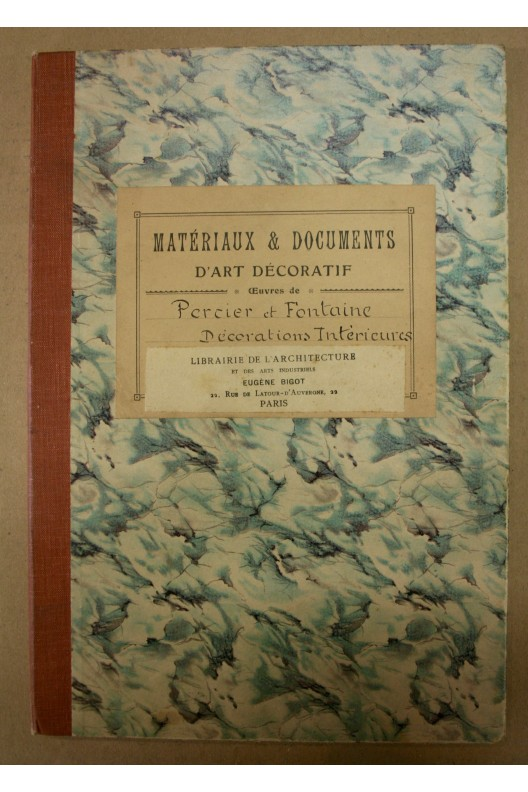 Décorations intérieures de Percier & Fontaine