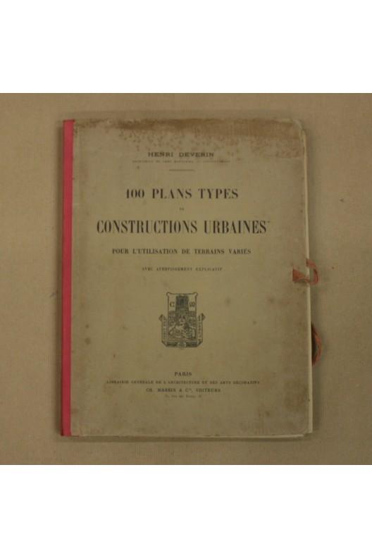 100 PLANS TYPES DE CONSTRUCTIONS URBAINES