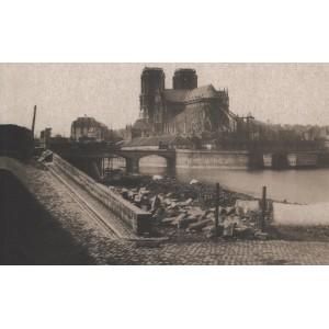 Paris, Seine et ponts. Maxime du camps.