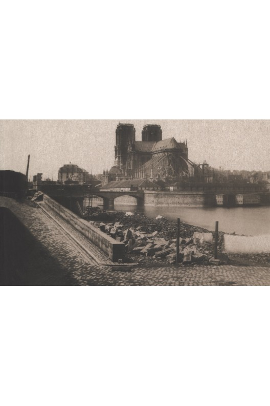 Paris, Seine et ponts. Maxime du camps.