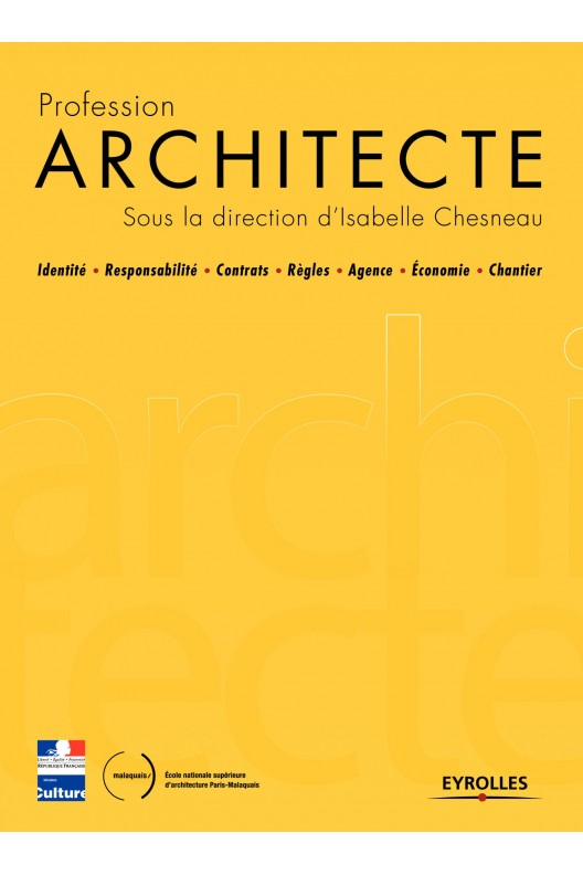 Profession architecte. (Dir) Isabelle Chesneau