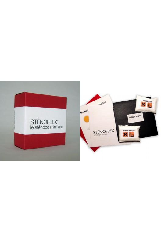Sténoflex Classic rouge / Sténopé mini labo