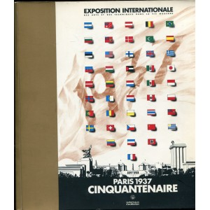 Paris 1937 - cinquantenaire de l'Exposition internationale des arts et des techniques dans la vie moderne