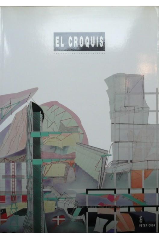 EL Croquis 39 . Peter Cook. 1989