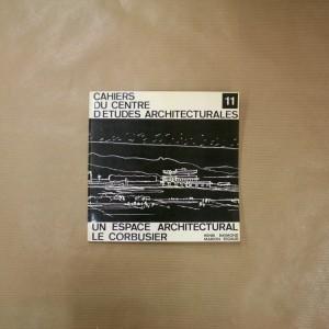Un espace architectural Le Corbusier.