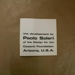Paolo Soleri. Cosanti Foundation