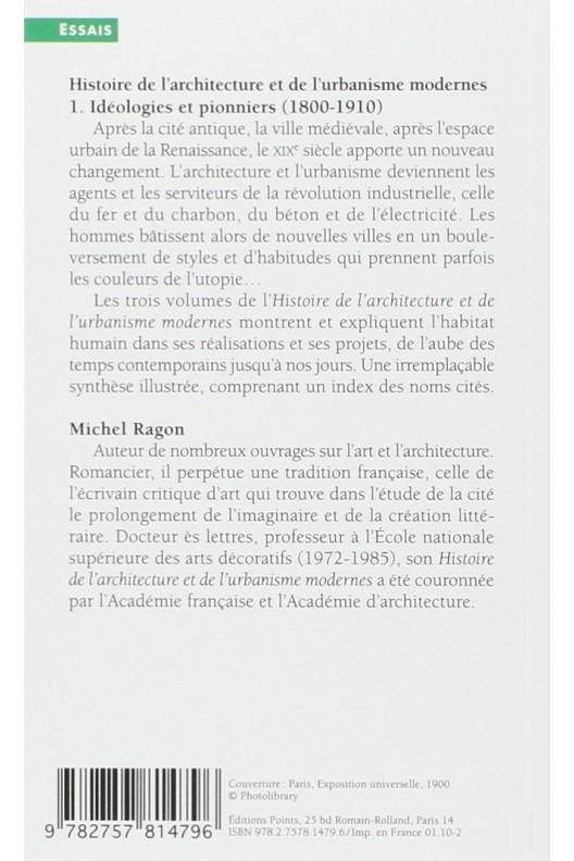 HISTOIRE DE L'ARCHITECTURE ET DE L'UBANISME MODERNES T1 (NE)