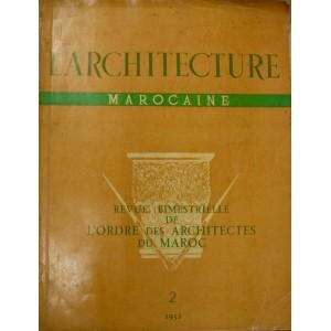 L'architecture marocaine n°2 1952