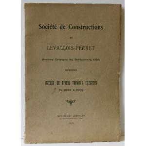 SOCIÉTÉ DE CONSTRUCTIONS DE LEVALLOIS PERRET