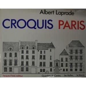Albert Laprade. Croquis Paris 1