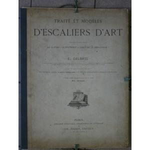 Traité et modèles d'escaliers d'art