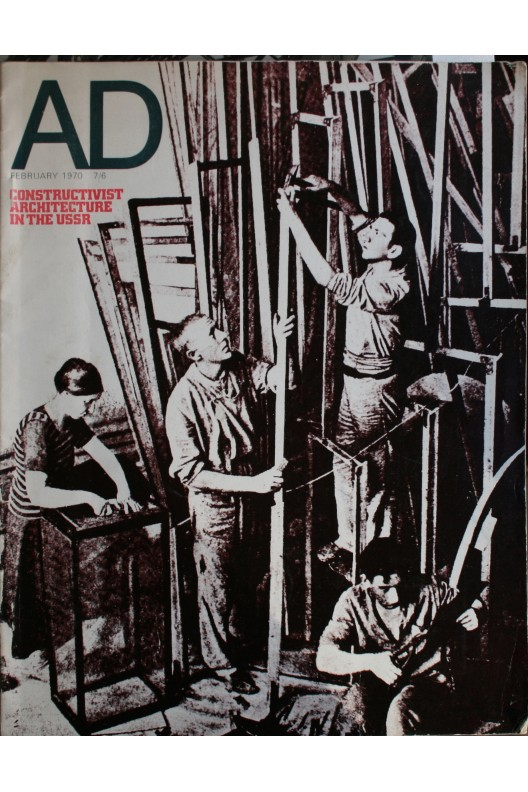 A D 02/70 CONSTRUCTIVIST ARCHITECTURE IN THE USSR