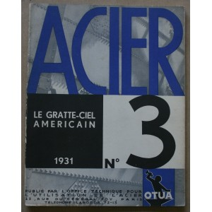 LE GRATTE-CIEL AMÉRICAIN / ACIER N°3 / OTUA 1931