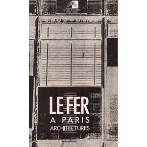 Le fer à Paris, architectures.