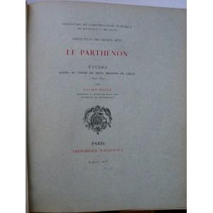 Le Parthénon, études par Lucien Magne 1895