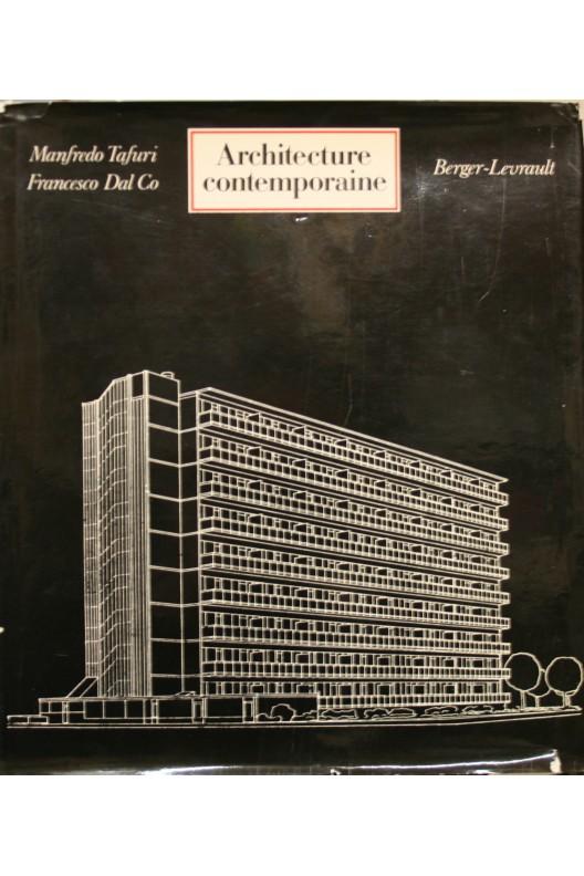 Architecture contemporaine. Manfredo Tafuri