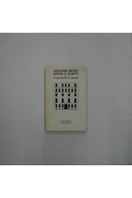 Giovanni Muzio / opere e scritti