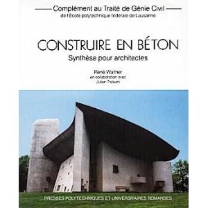 Construire en béton - synthèse pour architectes