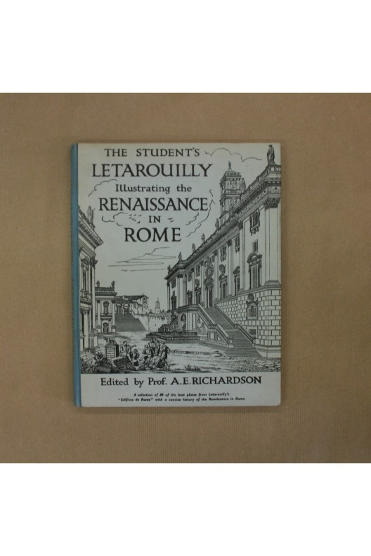 The student's Letarouilly illustrating the renaissance in Rome