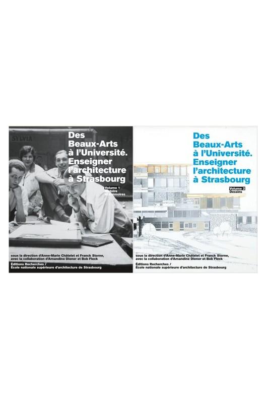 Des beaux-arts à l'université - enseigner l'architecture à Strasbourg