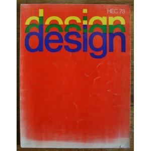 DESIGN. HEC 1973. Maquette Jean Widmer