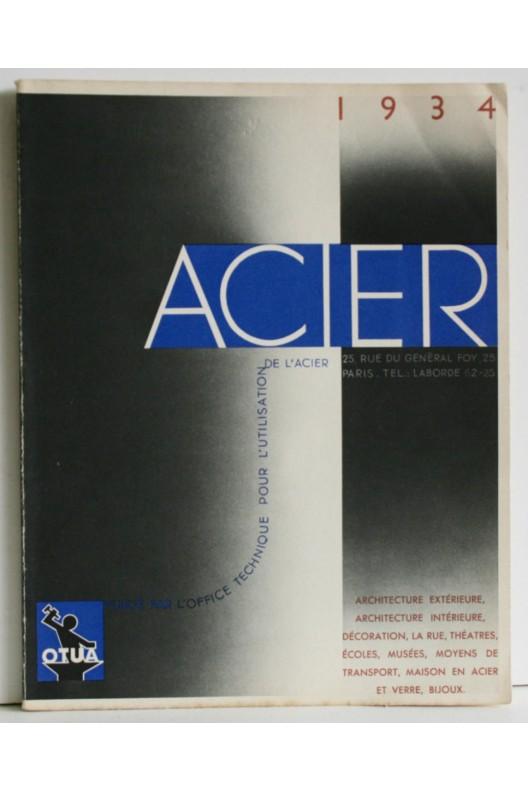 ACIER 1934 / Architecture, décoration / Maison de verre Chareau