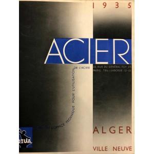 ALGER VILLE NEUVE / OTUA 1935 ACIER