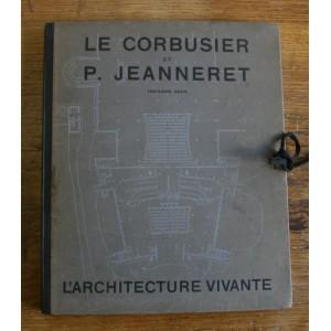 Le Corbusier et Pierre Jeanneret / 3ème série / l'Architecture vivante.