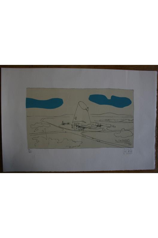 Lithographie Le Corbusier
