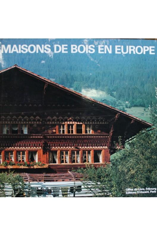 Maisons de bois en Europe.