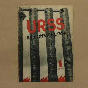 URSS en construction Numéro 1 de 1932