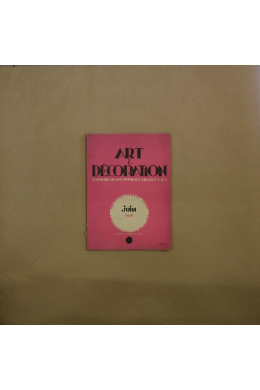 Art & Décoration juin 1929.
