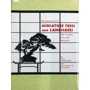 The miniatures trees and landscapes. Bonsai