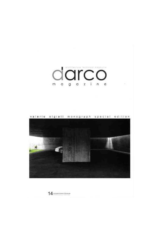 DARCO 14 VALERIO OLGIATI MONOGRAPH SPECIAL EDITION
