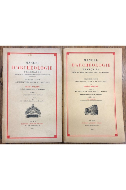 Manuel d'archéologie française. Camille Enlart