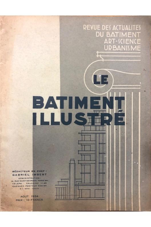 LE BATIMENT ILLUSTRÉ AOUT 1934