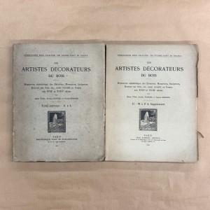 les artistes décorateurs du bois / Henri Vial / 1912