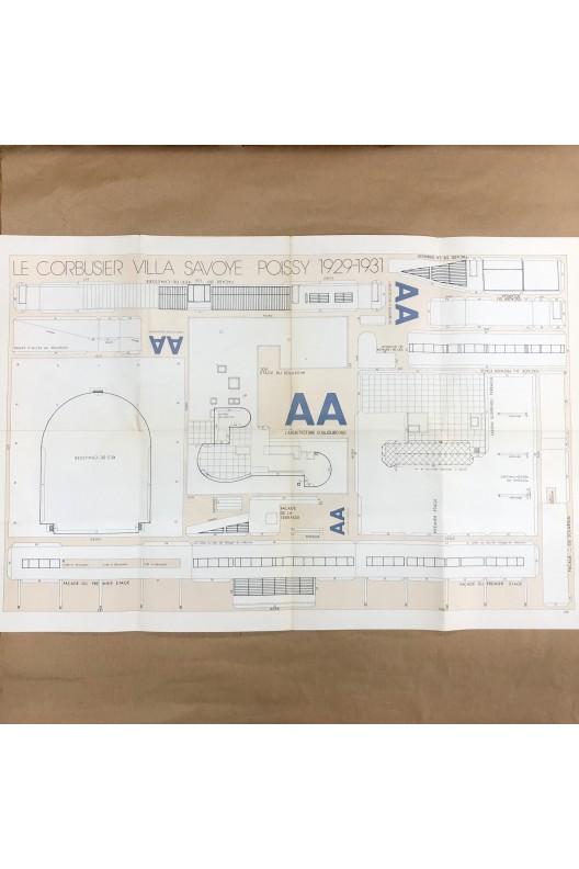 Le Corbusier / Villa Savoye / maquette à découper
