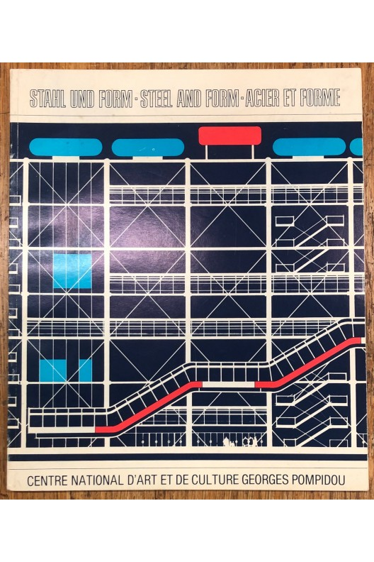 Centre Pompidou / Acier et fome / 1980